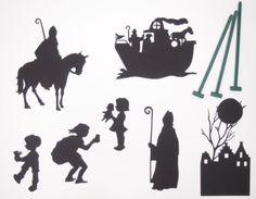 Met dit Sinterklaas schimmenspel maak je de prachtigste creaties op de muur!