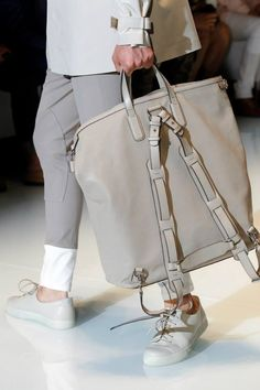 I have to have this bag! *drool* ---> Gucci Men, Spring Summer 2014 Accessories