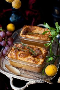 Salmon Souffle and Wine (Recipe)