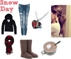 """snow day"" by love-lauren-rae143 on Polyvore"