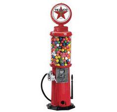 Texaco Gas Pump Gumball Machine