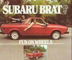 Subaru brat. I need it. Yesterday...