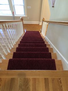 Stair Carpet Runners - The Carpet Workroom Home Carpet, Carpet Sale, Stair Carpet, Rugs On Carpet, Custom Area Rugs, Hall Runner, Custom Carpet, Staircase Ideas, Design Blogs