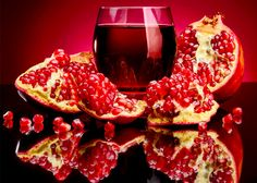 To get the complete benefit Of the #Pomegranate, Take it as #Juice