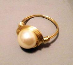 Pearl Ring. Kinda love this.