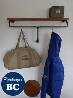 パイプハンガー,黒,鉄,棚受け金具,DIY素材,DIYパーツ,アイアン,アンティーク風,ビンテージ風,ディスプレイ,