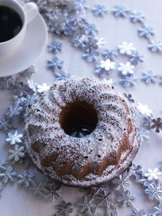 Finnish Recipes, Good Food, Yummy Food, Sweet Pastries, Winter Christmas, Doughnut, Cake Recipes, Goodies, Food And Drink