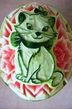 Arte en frutas