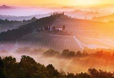 fotografia krajobrazu złota godzina