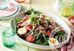 Салат гордон рамзи со стручковой фасолью и миндальными лепестками
