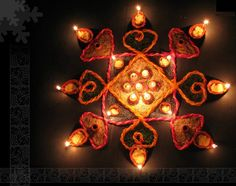 Happy Diwali Greeting cards & Diwali wishes: Diwali / Devali / Deepavali is a festival celebrated in India by decorating their houses with clay diyas and be Diwali Greeting Cards, Diwali Greetings, Diwali Wishes, Rangoli Ideas, Rangoli Designs Diwali, Diwali Rangoli, Rangoli Photos, Diwali Decorations, Flower Decorations