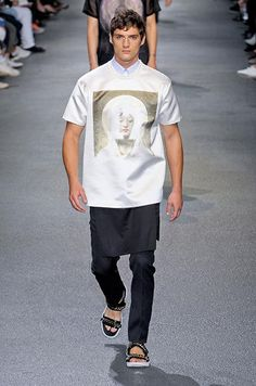 Défilé Givenchy Printemps-été 2013 Homme - Madame Figaro