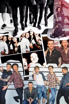 Mcbusted collage whoop!