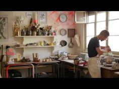 Prix de la Jeune Création Métiers d'Art - Xavier Noël - YouTube
