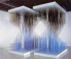 "Galerie Perrotin presents ""Chronochrome,"" a double exhibition dedicated to Jesús Rafael Soto."