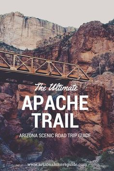 Check out our extensive road trip guide to the scenic and historic Apache Trail!