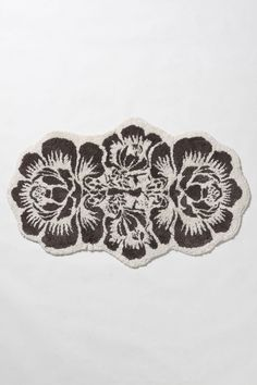 anthropologie. :] damask bathmat