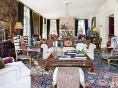 Ralph Lauren's Refined Homes and Chic Madison Avenue Office Photos | Architectural Digest