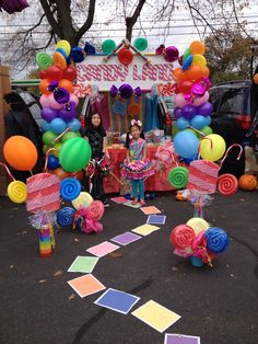 First trunk or treat creation at my daughter's school