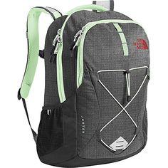 The North Face Women s Jester Backpack - Asphalt Grey Dark Heather   Subtle  Green - OS 9eebddafa9ff