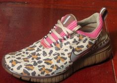 Leopard Nikes .. Please appear in my closest now!