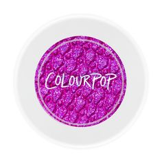 Neon Purple Pigment topped with multi-dimensional glitter. Practically illegal, this is our ColourPop purple fantasy come true.