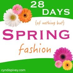 28 Days of Spring Fashion (Day 1) - Grace & Beauty