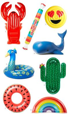 1. Lobster Float / 2. Smarties Float / 3. Emoji Pool Float / 4. Moby Dick Raft / 5. Peacock Float / 6. Cactus Float / 7. Watermelon Pool Float / 8. Rainbow Float Shop Floats Below: Hey girls! Today I am rounding up the most adorable pool floats I could find! Pool floats are the perfect accessory for a pool party, beach trip or vacation. Last year I purchased this...Continue Reading