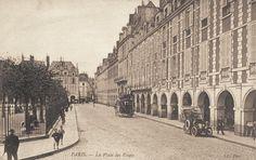 place des Vosges - Paris 3ème/4ème