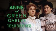 In Anne of Green Gables, one of the best scenes is when Anne, after pining (and goading Marilla) endlessly, receives a baby blue dress, with puff sleeves. Anne was overjoyed to receive such an ostentatious gift. Baby Blue Dresses, Flower Girl Dresses, Anne Shirley, Winter Light, Holiday Movie, Cuthbert, Chapter One, Prince Edward Island, Anne Of Green Gables