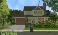 One more house with my favorite theme of nature and village life. Found in TSR Category 'Countryside' Sims 2 House, Casas The Sims 4, Sims 3, Countryside, Shed, Farmhouse, Outdoor Structures, Mansions, House Styles