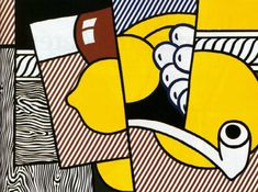 I have chosen to discuss the cubist drawing 'Cubist Still Life' by Roy Lichtenstein. This Cubist Painting was made in and was one of . Roy Lichtenstein Pop Art, Industrial Paintings, Pop Art Movement, Art Diary, Famous Art, Arte Popular, Art Plastique, Art Lessons, New Art