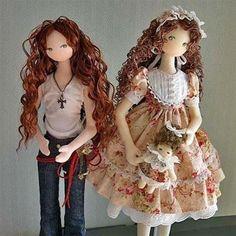 Patrón de muñeca adolescente
