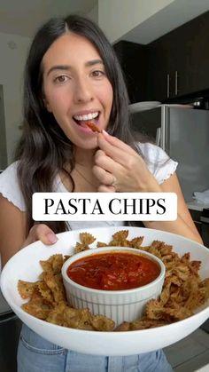 Vegan Snacks, Vegan Breakfast Recipes, Easy Snacks, Healthy Snacks, Vegan Recipes, Fun Baking Recipes, Cooking Recipes, Pasta Chips, Good Food