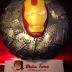 Ironman fondant cake ❤️