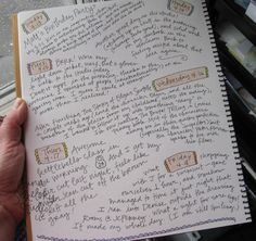 Daily Journal Project, number 17.
