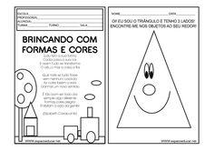 ESPAÇO EDUCAR: Caderno de Atividades Cores e Formas para Educação infantil grátis para você imprimir!