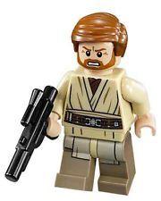 LEGO 75040 Obiwan Kenobi Minifigure - General Grievous Wheelbike set ~ BRAND NEW