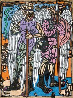 Robert Combas - Sans filet Bad Painting, Neo Expressionism, Modern Art, Contemporary, Fauvism, Expositions, Art Moderne, Conceptual Art, Oeuvre D'art