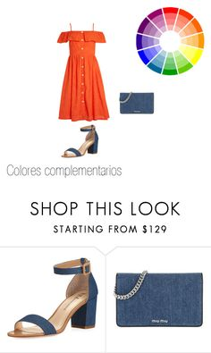 Colores complementarios by roxana-montano-puga on Polyvore featuring moda, Neiman Marcus and Miu Miu