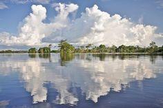 Lago Ararinha - Rio Mamori, AM. | Foto: Rafael Gunti.