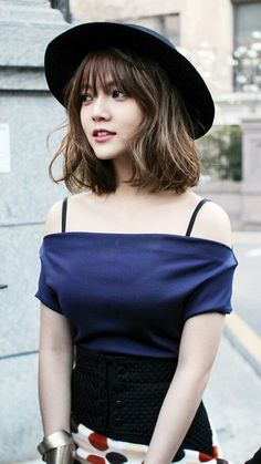 28 asiatische kurze Frisuren in 2020 Medium Hair Styles, Curly Hair Styles, Korean Short Hair, My Hairstyle, Korean Hairstyle Bangs, Trendy Hairstyles, Asian Hairstyles, Hair Goals, Asian Beauty