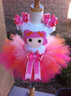 Berry Jars n' Jams Lalaloopsy TuTu Set by ButterflyBowtique, $44.50
