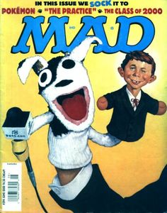 Cover for MAD (EC 1952 serie) #394 - JUNE 2000