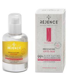 Sérum Naturel Anti-âge Réjence | Réjence - Soins Dermo-Cosmétiques Naturels - produits de Santé et de Beauté aux huiles précieuses