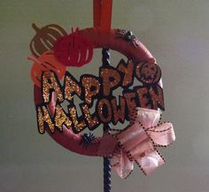 Hey, I found this really awesome Etsy listing at https://www.etsy.com/listing/165169700/sale-halloween-wreath-beautiful-simple