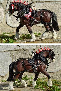 Harness in progress by Tackmaker mojcaj on DeviantArt - model horse -