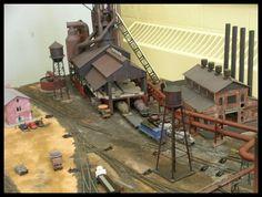 steel mill model railroads | The American Model Train Concept
