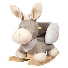 NATTOU - NATTOU L'âne à bascule Cappuccino bébé | La Redoute