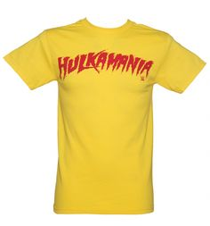 The all American wrestler, #HulkHogan caused a real stir back in the 80s and had an entire movement, 'Hulkmania' named after him. If you remember the hysteria surrounding this larger than life character, this classic #Hulkmania tee will bring back many a nostalgic memory. It's a real knock-out! xoxo